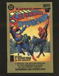 DC & Marvel Present Superman & Spider-Man VF/NM Cond.