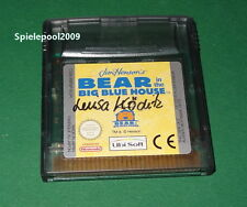 Bear in the big blue house fuer Nintendo Game Boy Color Advance ( nicht DS ! )