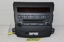 Radio Mitsubishi Outlander 2012 Bedienelement Visteon 8002A139XA Player CD