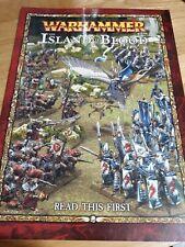 Warhammer Fantasy Suplemento de reglas de la isla de sangre libro Games Workshop