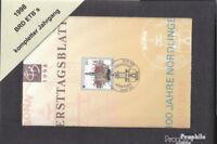 BRD 1998 ETB kompletter Jahrgang in sauberer Erhaltung