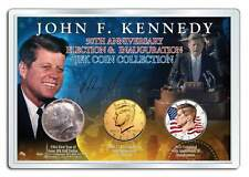John F. Kennedy 50th Anniversary Presidential 3-Coin 1964 SILVER Set *MUST SEE*