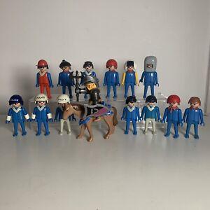 Vintage Rare Playmobil Geobra Figures Dated 1974 Mixed Job Lot Plus New Knight