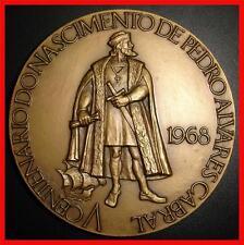 Epic Navigator/ Pedro Alvares Cabral/ Discoverer of Brazil/ Great Bronze  (M8(c)