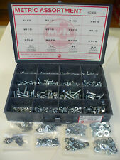 METRIC BOLT (HEX CAP SCREW) NUT AND WASHER ASSORTMENT M5 - M10mm, DIN 933 934