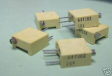 "Spectrol Cermet Trimmer, 1K ohm , 3/8"" sq., ""5 pc. lot"""