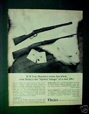 1964 Daisy BB Pump Gun Western Cowboy Rifle Toy White Bear Magazine Print AD