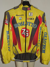 MAGLIA BICI GIACCA JACKET WINDSTOPPER CICLISMO MAILLOT SHIRT ZG ROSLOTTO tg. L