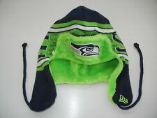 New Era SEATTLE SEAHAWKS Green Team NFL FOOTBALL WINTER HAT Beanie Hat Ski Cap