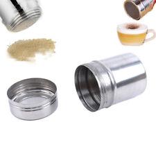 New listing Stainless Steel Chocolate Cocoa Coffee Cinnamon Powder Duster Sj