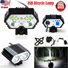 10000LM CREE XM-L T6 LED 3 Modes Bicycle Torch Bike Lamp Headlight  Battery Pack