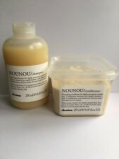 ONE SET DAVINES NOUNOU ILLUMINATING SHAMPOO AND CONDITIONER 250ML
