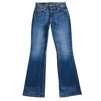 Vintage Levi's Women 529 89 Blue Low Rise Regular Bootcut Fit Jeans W27 L32