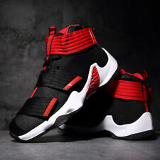 Men's Basketball Shoes Fashion Sports Boots Running Athletic Canvas Sneakers