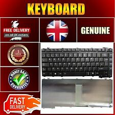 Keyboard for Toshiba Laptop   Equium L300-17Q  A300D-167 UK Layout Black