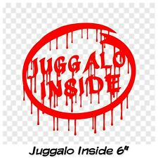 Juggalo Inside decal sticker Faygo ICP decal