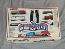 Bachmann #24300 Highballer Locomotive and 3 Cars N Scale Train Set