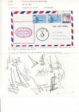 Nederland partijtje Luchtpostbrieven jaren 1950 - 60