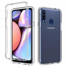 For Samsung Galaxy A20S Transparent Ultra Thin Soft Silicone TPU Anti-Fall Case