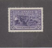CANADA (MK3331) # 261  VF-MLH  50cts JUL 1942 /MUNITIONS FACTORY CAT VALUE $50