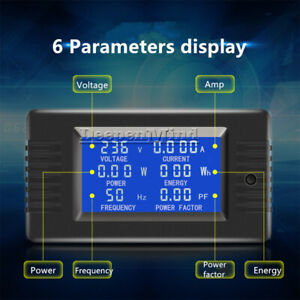 5A/10A/100A Battery Tester DC Voltage Current Power Capacity Meter Optional