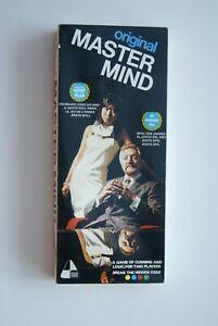 VINTAGE INVICTA CRONER ORIGINAL MASTER  MIND 1972 BOARD  GAME
