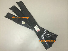 "3 G6 72"" Gator blades for RC72-F30 mowers on Kubota F2260, F2560, F3060 *396814"