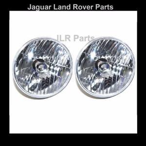 "Land Rover Defender RHD Crystal Clear 7"" Halogen Headlight Lamp Kit - RTC4615C"