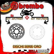 BRDISC-4027 KIT DISCHI FRENO BREMBO KAWASAKI ZX 10 R 2012- 1000CC [ANTERIORE+POS