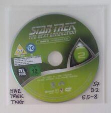 Star Trek The Next Generation - Season 7 Disc 2 Eps 5-8 - R2 -  DVD DISC ONLY