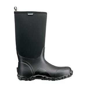 Bogs Classic High Black insulated waterproof NIB w/tags
