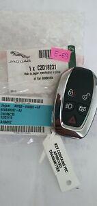 JAGUAR USA cars SMART Key Fob 5E0B40297-AJ AW93-15K601-AF 315mhz ID49 HITAG E-53