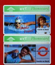 Sports BT Collectable UK Phone Cards