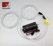 90mm CCFL Angel Eyes Halo Rings Replacement 2pcs KIT set 6000K With 1 Invertor