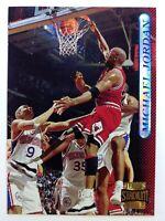 1996-97 Topps Stadium Club Michael Jordan #101, Chicago Bulls, HOF
