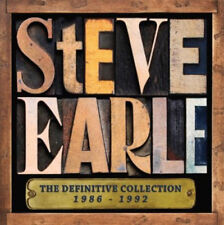 Steve Earle : The Definitive Collection CD (2013) ***NEW***