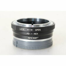 Objektivadapter für Canon FD Objektive an Sony Nex Mount Kameras