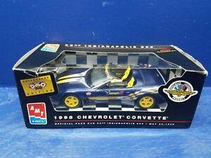 1998 AMT Ertl Chevrolet Corvette Convertible 82nd Indy 500 Pace Car MIB!!!!