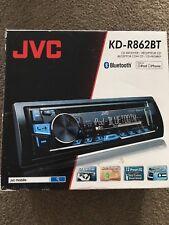 New JVC KD-R862BT Car CD Receiver with Bluetooth