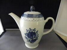 "Royal Copenhagen TRANQUEBAR BLUE - Coffee Pot 7"" #1105"