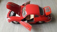 Burago 1/24 Scale 18-22079 - 1961 Porsche 356B Coupe  Red