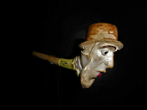 pipe en terre - Clay pipe Pipe Gambier Pipe de collection Pipe ancienne