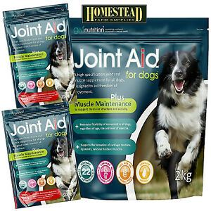 GWF JOINT AID FOR DOGS Plus Muscle Maintenance - 250g 500g 1kg 1.5kg 2kg