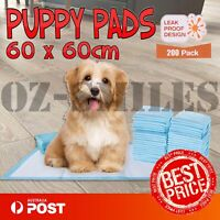 Puppy Training Pads Pet Dog Cat Indoor Toilet Super Absorbent Ultra Thin 200 pcs