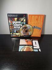 Grand Theft Auto: San Andreas (Sony PlayStation 2 PS2, 2004) GTA COMPLETE CIB