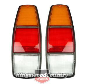 Holden WB Taillight Lens Ute Panelvan x2 LH +RH Left + Right Hand NEW brake stop
