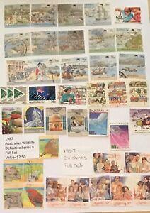 Australian Postage Stamp Used (1987)