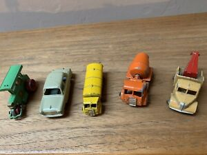 5 Lesney Vehicles Reasonable Condition