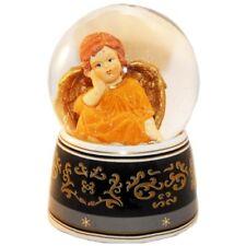 Angel Orange & Music Box Snow Globe 20036 Schneekugelhaus