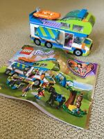 LEGO 41339 Friends Mia's Camper Van Only With Manual